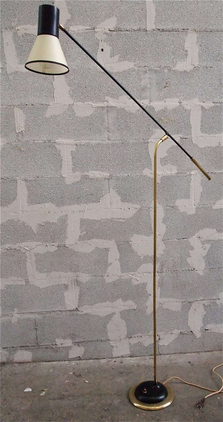 French 1950 floor lamp at 1stdibs for 1950 floor lamp