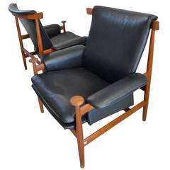 Pair of Armchairs by Finn Juhl