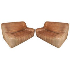 Pair of Sofas By De Sede