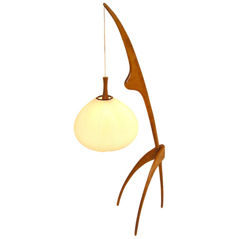this 1960 praying mantis floor lamp edited by rispal is no longer. Black Bedroom Furniture Sets. Home Design Ideas