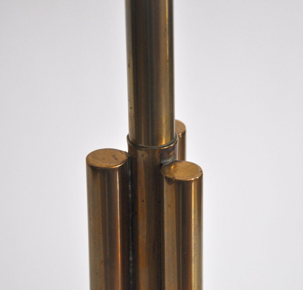 Mid-20th Century Floor lamp in Bronze For Sale