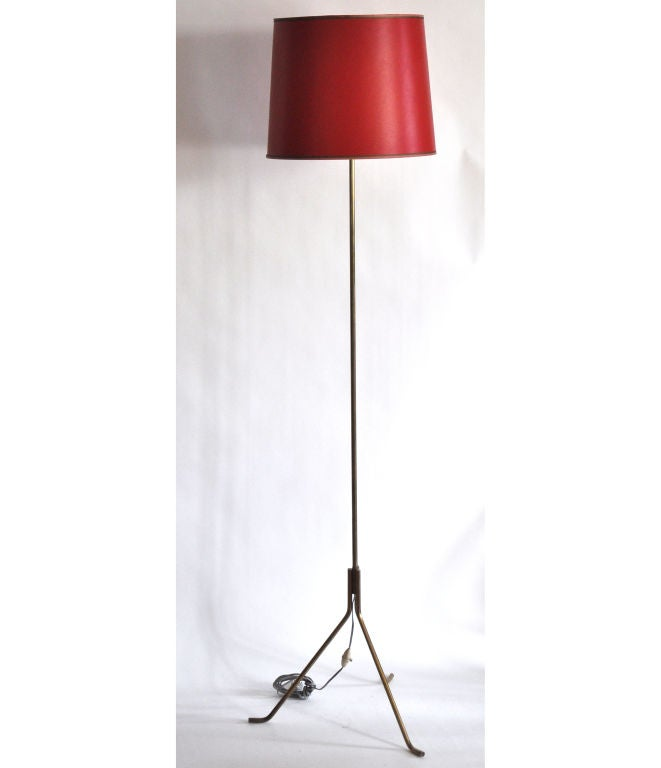Floor lamp in Bronze For Sale 1