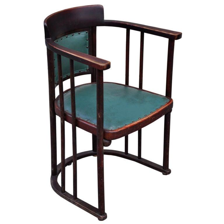 Armchair By Josef Hoffman For Sale