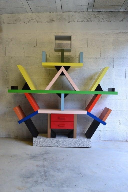 Bookcase By E. Sottsass 2