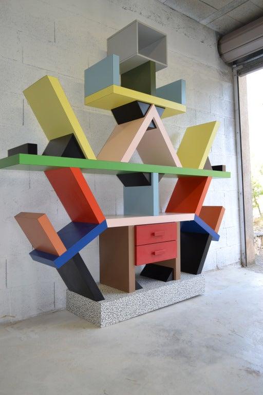 Bookcase By E. Sottsass 4