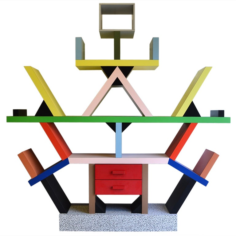 Bookcase By E. Sottsass