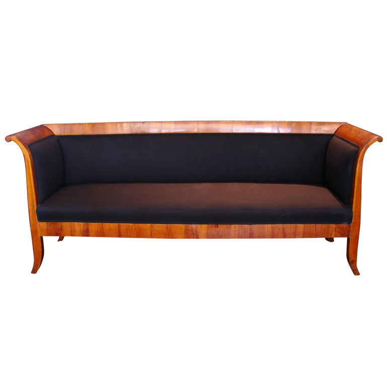 Elegant early 19th century biedermeier sofa at 1stdibs Biedermeier sofa