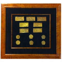A Set of Ordos Culture Gold Plaques