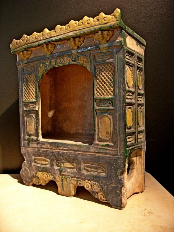 Ming dynasty sancai glazed pottery architectural model for for Architecture models for sale