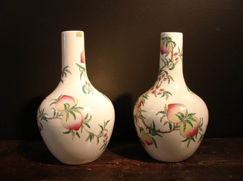 Chinese Pair of Famille Rose