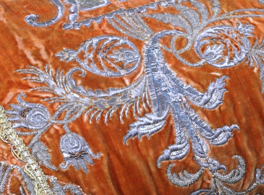 19th Century An Ottoman Empire Textile Pillow