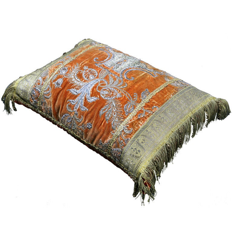 An Ottoman Empire Textile Pillow