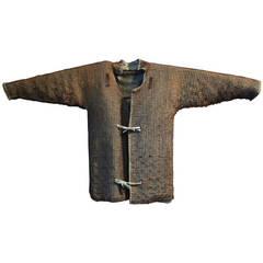 Japanese Samurai Chain Mail Undergarment, Kusari Katabira