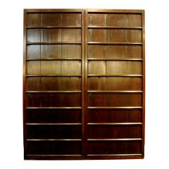 A Pair of Japanese Sliding Doors or Shutters (Amado)