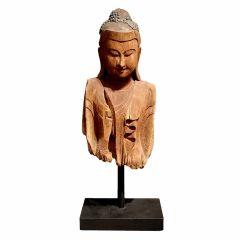 A Burmese Bust of Buddha