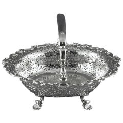 George II Period Silver Basket