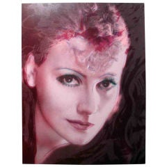 Greta Garbo, 1988 by Rupert Jasen Smith