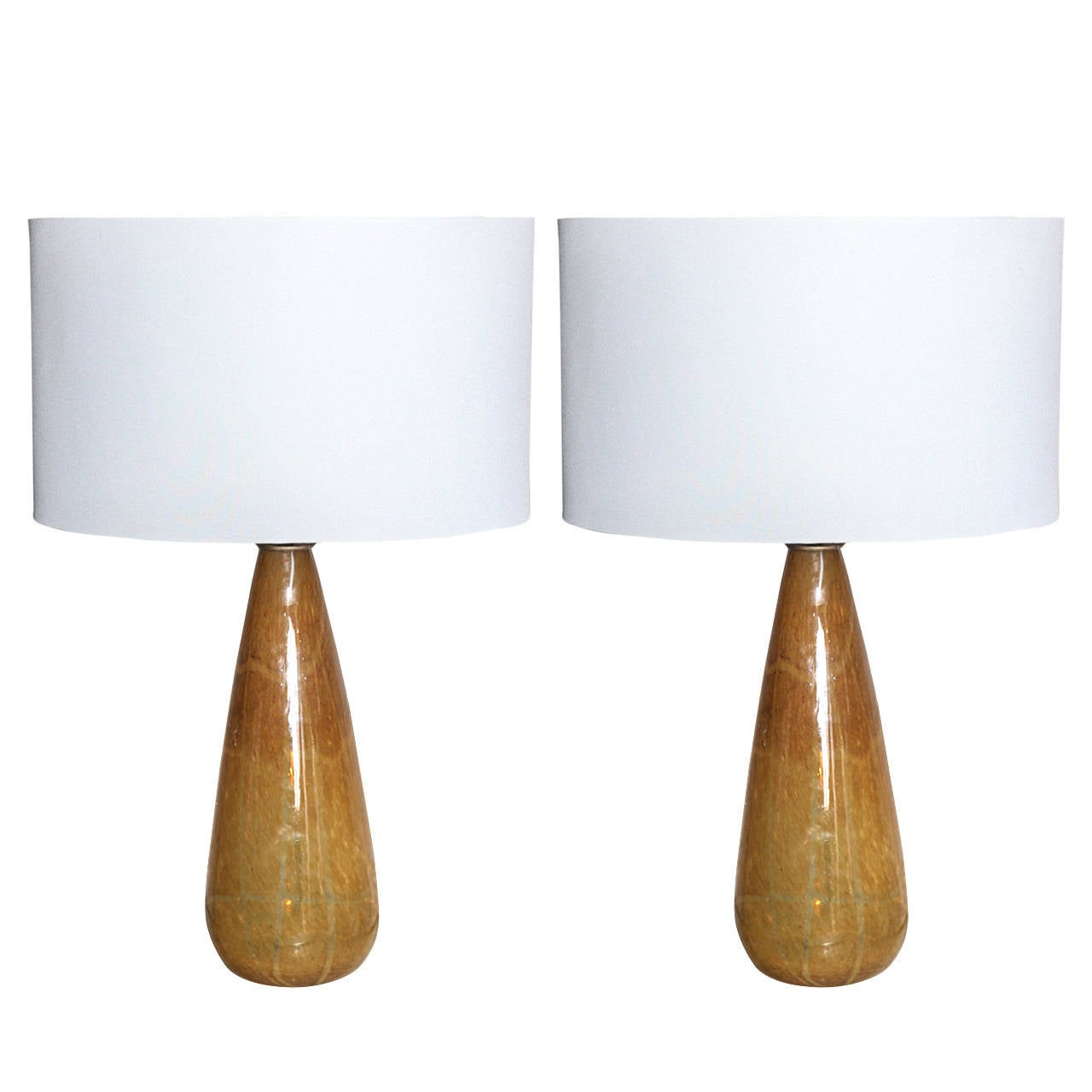 this pair of coffee colored murano glass table lamps is no longer. Black Bedroom Furniture Sets. Home Design Ideas