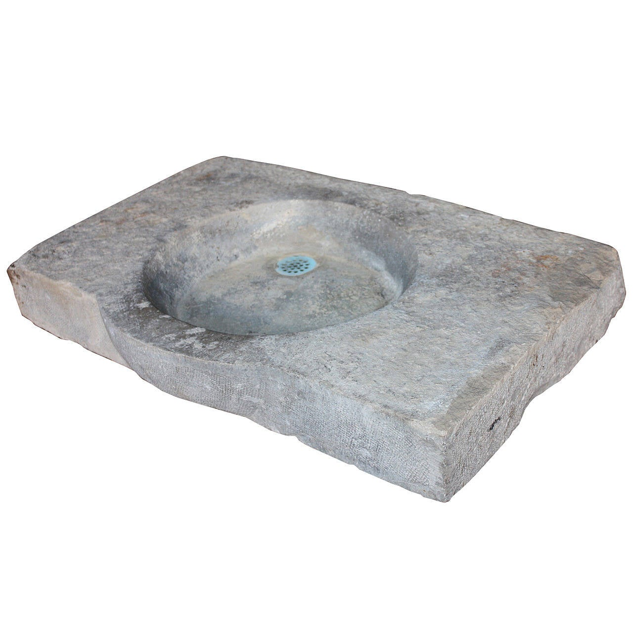 Limestone Sink : French Farmhouse Limestone Sink at 1stdibs