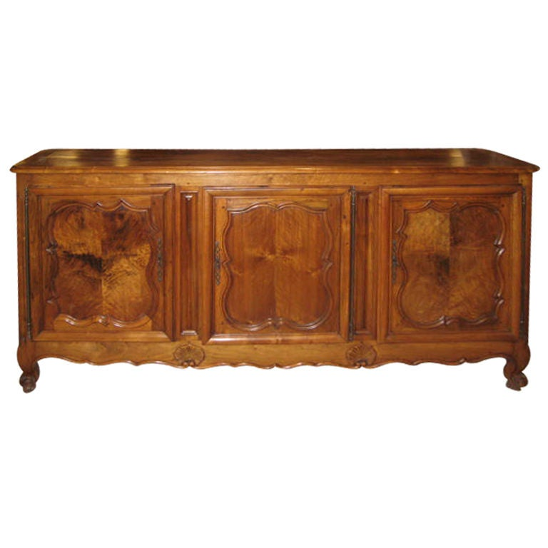 french walnut buffet enfilade at 1stdibs. Black Bedroom Furniture Sets. Home Design Ideas