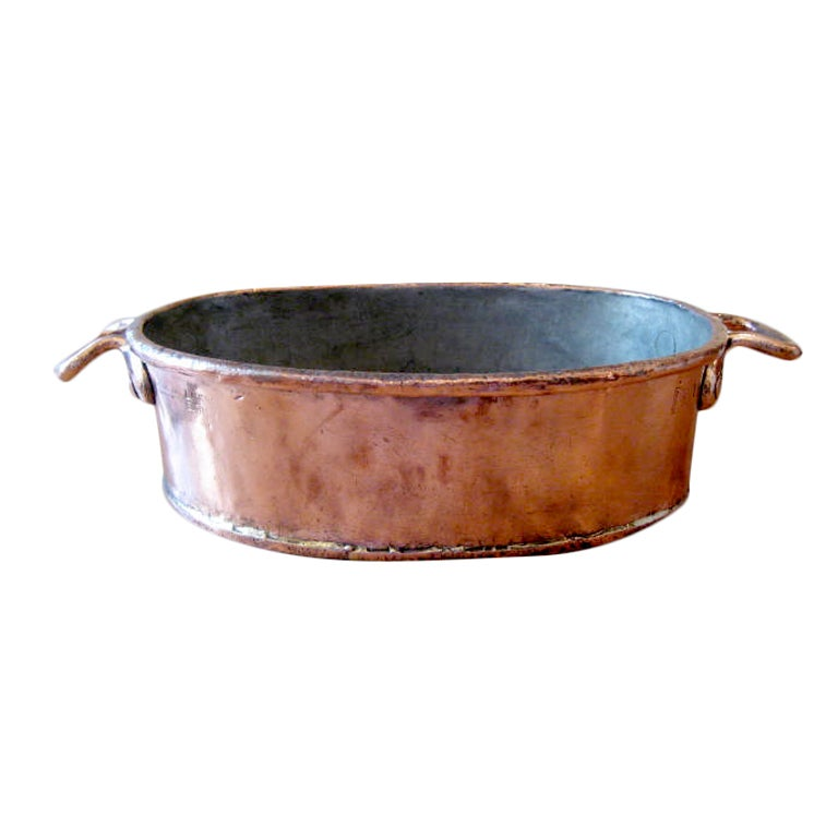 copper roasting pan copper roasting pan at 1stdibs 2584
