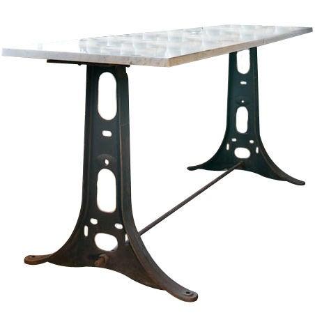 steel machine table