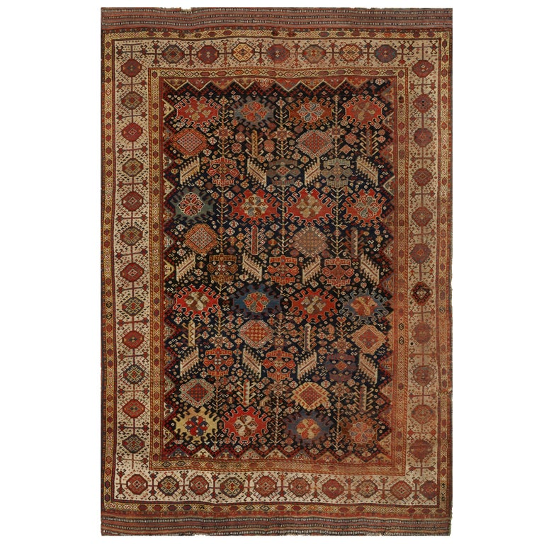 Antique Qashqai Rug For Sale At 1stdibs