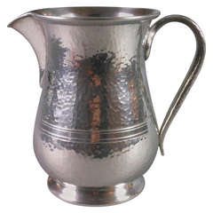English Pewter Jug by Archibald Knox for Liberty