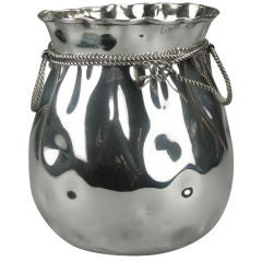 German Silver-Plated Vase with WMF Maker's Mark