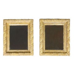 Pair of Gilt Neoclassical Mirrors