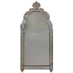 Regence Period Glass Mirror
