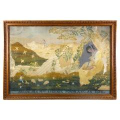 French Needlework Landscape