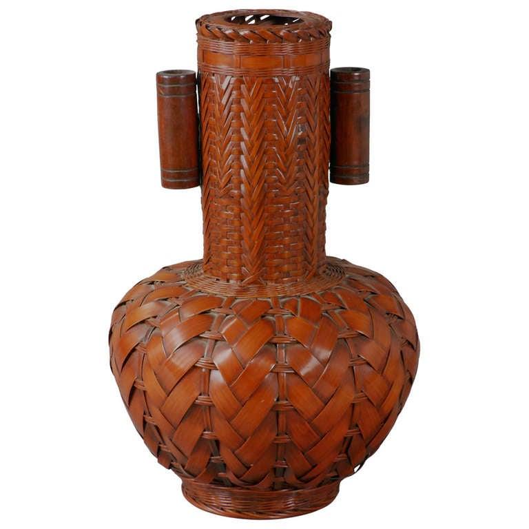Japanese Bamboo Vase