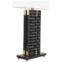 Chinese Abacus Lamp