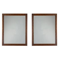 A Pair of Mirrors by Frank Lloyd Wright for Heritage Henredon