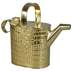 Arts and Crafts Brass Watering Can