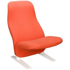 French Concorde Chair by Pierre Paulin