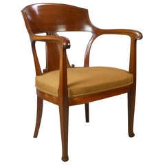 Swedish Art Nouveau Chair