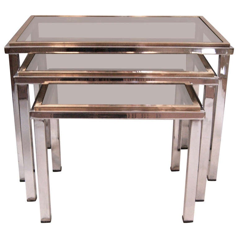 1087040 for Glass top nesting tables