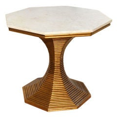 Hourglass Table by Bunny Williams