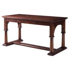 Mahogany NeoClassical Style Partners Desk