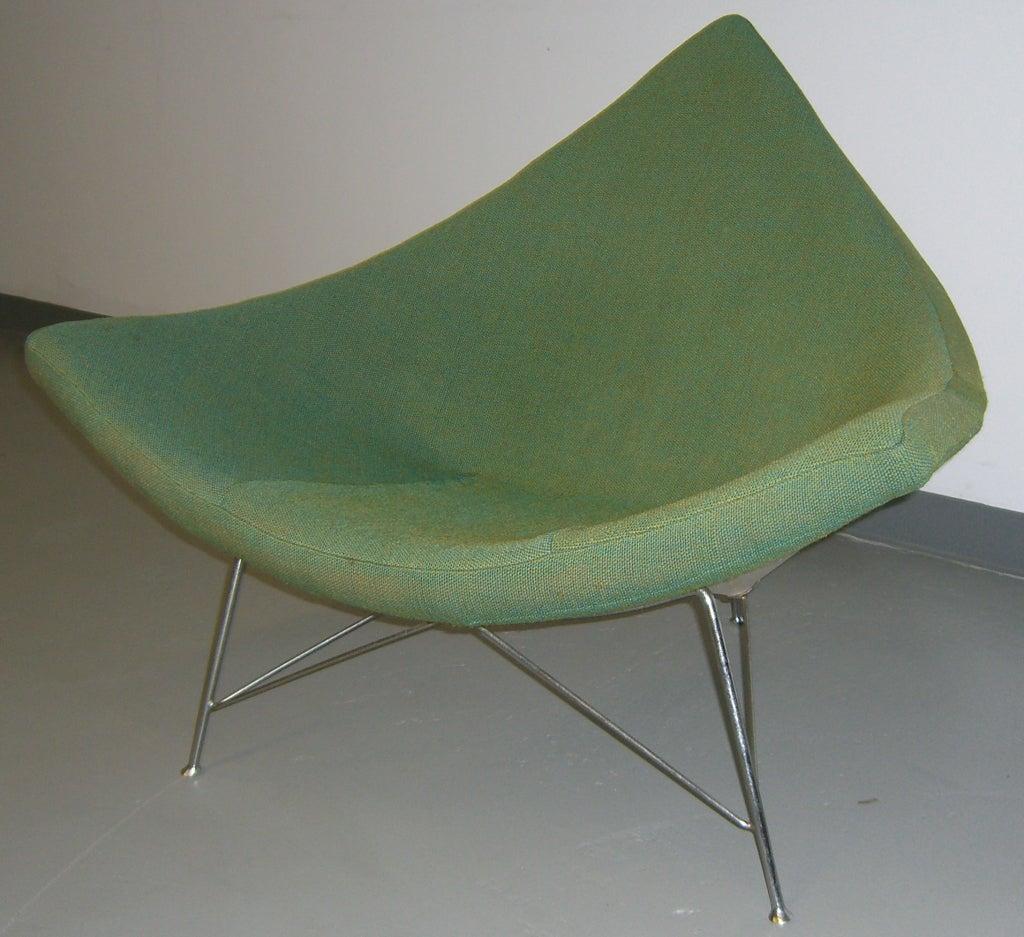 Original 50 S Coconut Chair By George Nelson For Herman