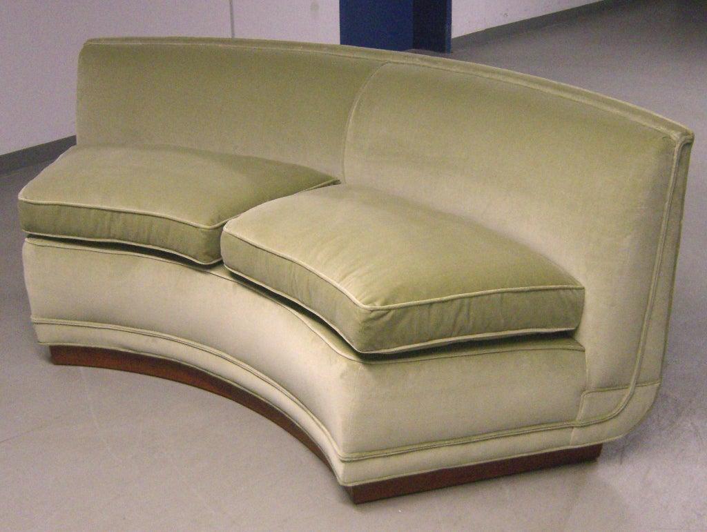 1950's Custom Designed Edward Wormley Sectional Sofa image 4
