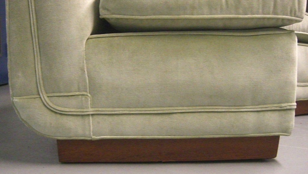 1950's Custom Designed Edward Wormley Sectional Sofa image 6