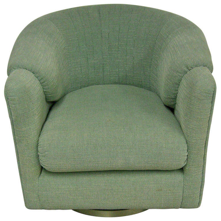 Cool And Comfortable 70 39 S Era Swivel Club Chair For Sale