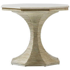 """""""Hourglass"""" Table with a Natural Stone Top by Bunny Williams"""