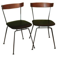 A Pair of 1950's Chairs by Clifford Pascoe for Modernmasters Inc.
