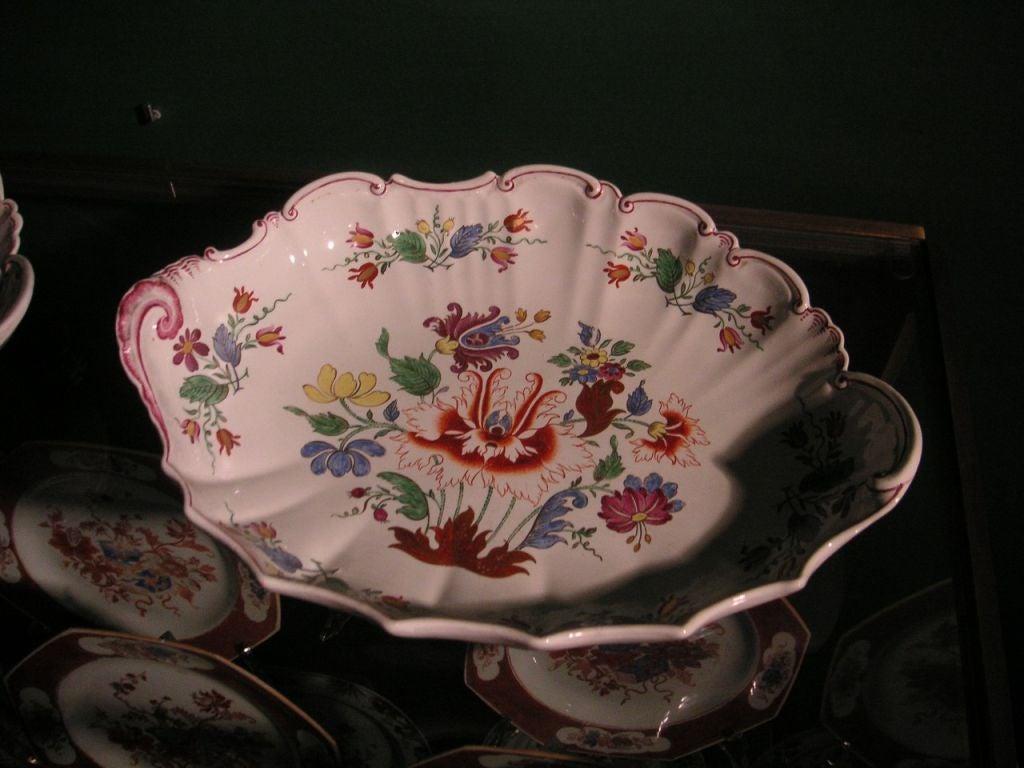 A Rare 18th Century 74 Pieces Set Of Carlo Ginori