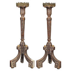 Pair of Candle Stands