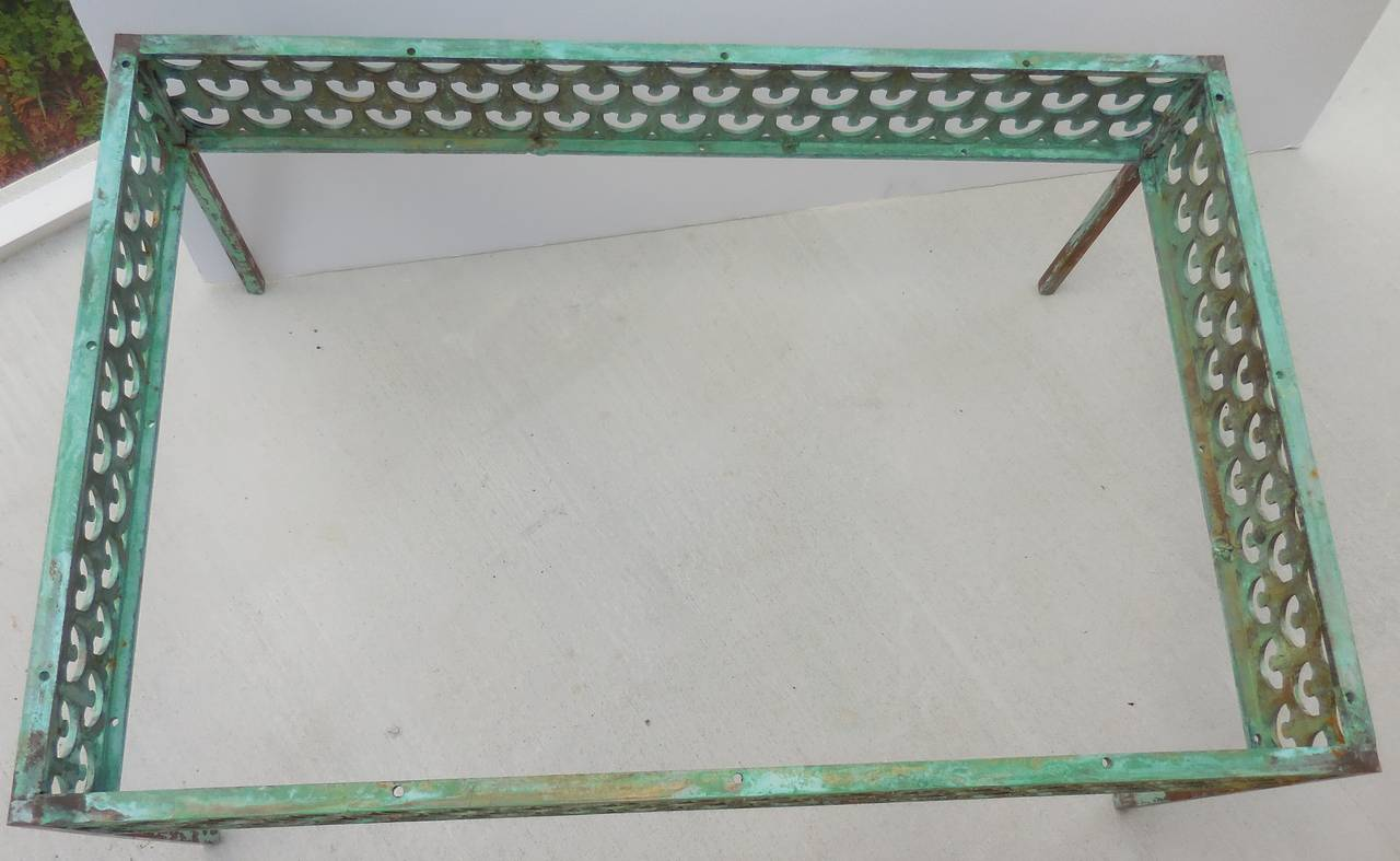 Architectural Bronze Coffee Table At 1stdibs